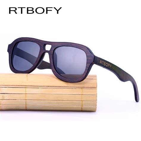 Handmade Sunglasses Brand - rtbofy wood sunglasses zebra brand designer oval wood