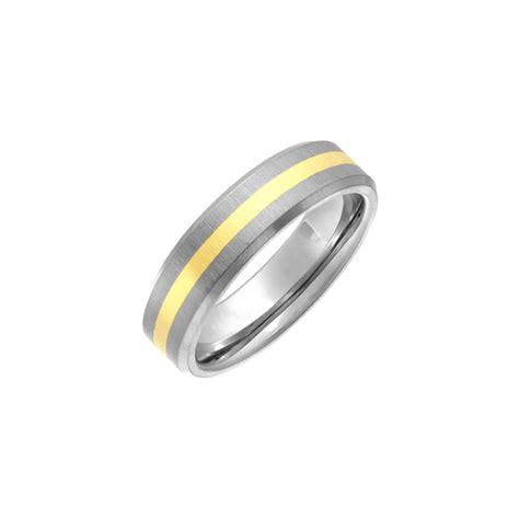 Wedding Rings Titanium by Titanium Polished Wedding Ring