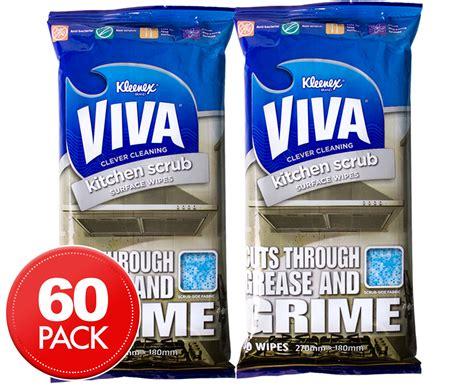 Scrub Viva 2 x kleenex viva kitchen scrub wipes 30pk great daily