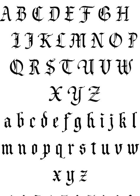 font text pattern tattoo lettering lettering tattoos fonts tattoo designs