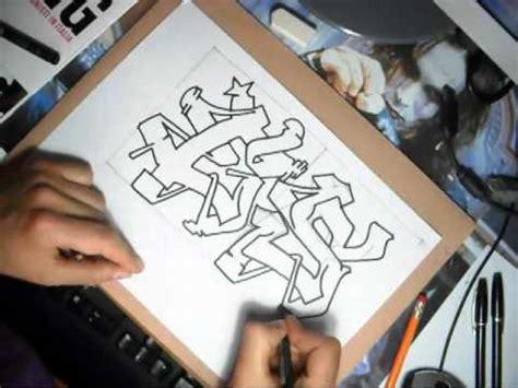 murales lettere 4 tutorial come fare graffiti how to make graffiti
