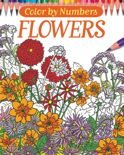 Free Barnes And Noble Gift Card Number - color by numbers flowers by else lennox coloring book barnes noble 174