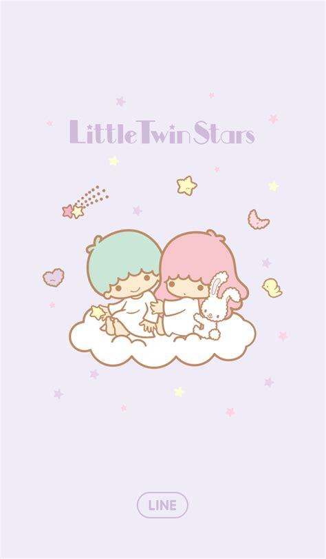 theme line android little twin star little twin stars line themes