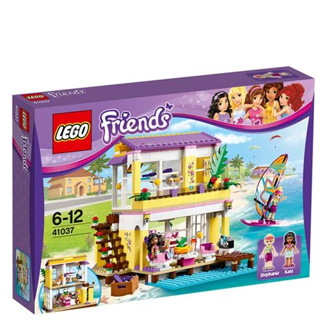 lego friends stephanie s house lego lego friends stephanie s beach house 41037 toys zavvi