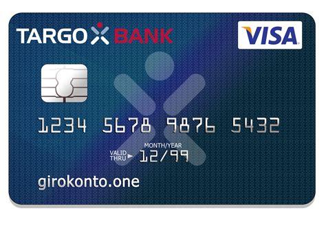 bank kredit karte girokonto der targobank girokonto one