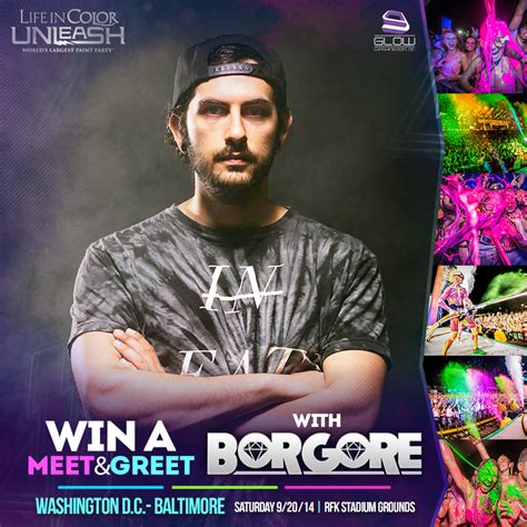 in color dc tickets ticket giveaway meet greet borgore wants to dump