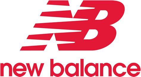 logo athletic shoes new balance