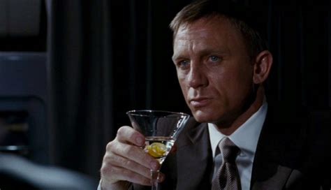 james bond martini how much does james bond drink