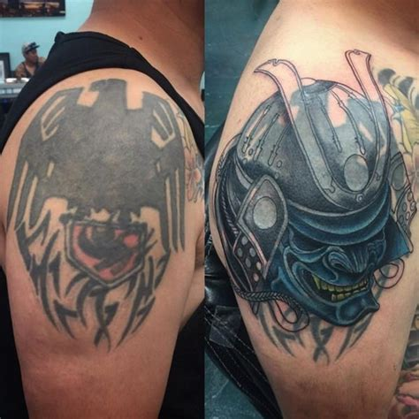 shoulder cover up tattoos for men 55 cover up tattoos impressive before after photos