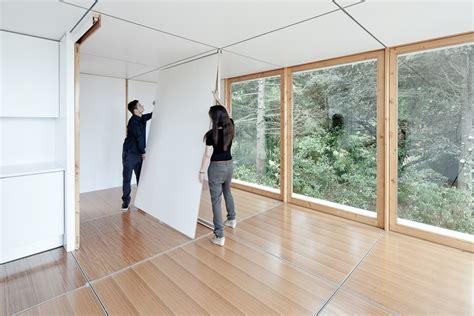 Moving An Interior Wall by Mima Concept De Maison Ultra Modulable Yook 244
