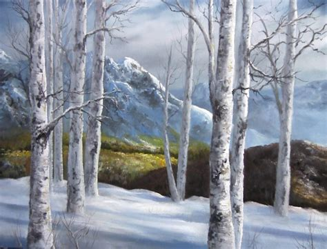 bob ross painting birch trees you wanted to paint birch trees kevin