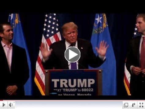 donald trump victory speech donald trump nevada victory speech