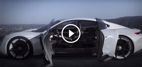 porsche mission e doors porsche mission e concept interior revealed