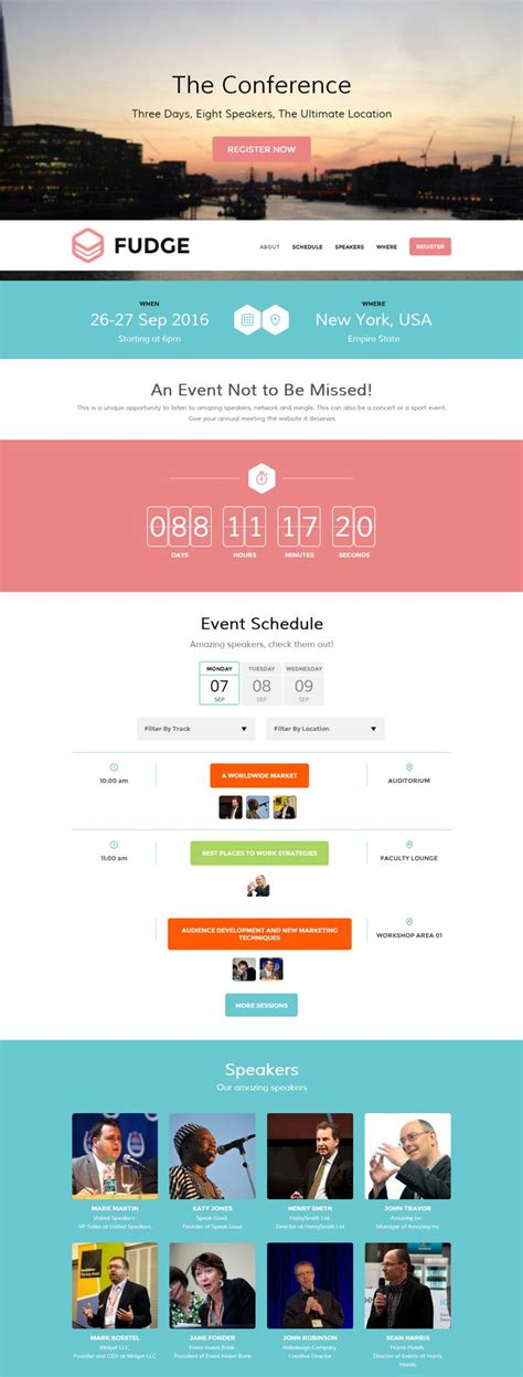 wordpress email layout 26 best images about conference branding on pinterest