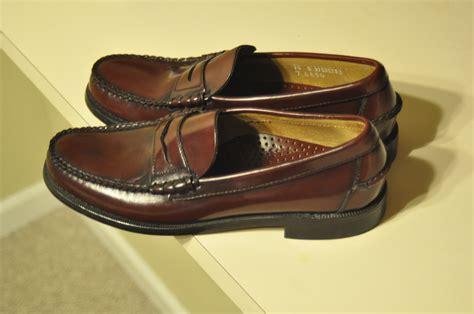 classic loafer sebago classic burdundy loafers 10b