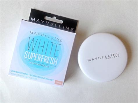 Maybelline White Fresh maybelline white superfresh 12hr whitening perfecting compact review