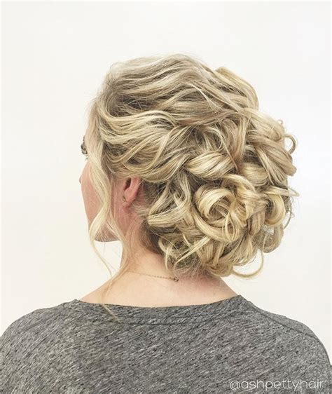 beautiful braids and updos from ashpettyhair bridal hairstyles curly wedding hair curly