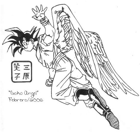 imagenes de goku angel goku angel by miharaemiko on deviantart