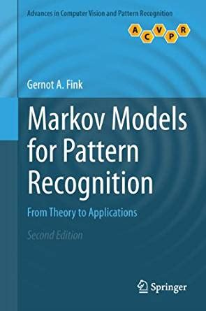 pattern recognition concepts methods and applications amazon com markov models for pattern recognition from