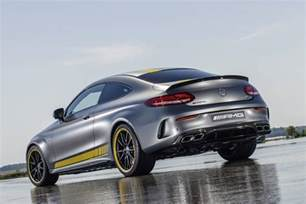 Mercedes C63 Amg Sedan Official 2016 Mercedes Amg C63 Coupe Edition 1 Gtspirit