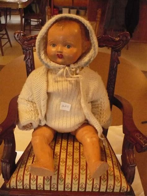 unmarked composition doll 18 quot unmarked composition doll