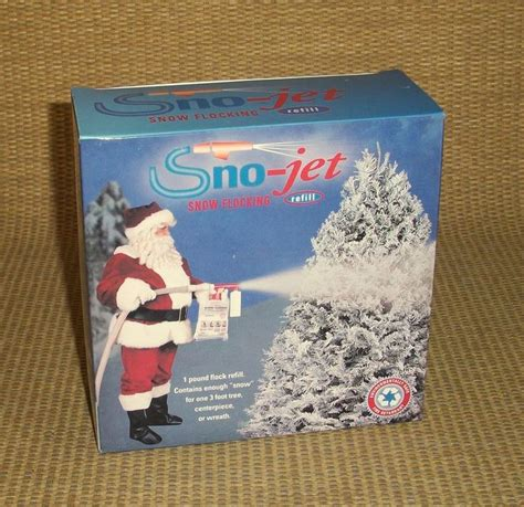 snow jet flock gun sno jet tree snow flocking refill flock 1lb snow compound trees trees