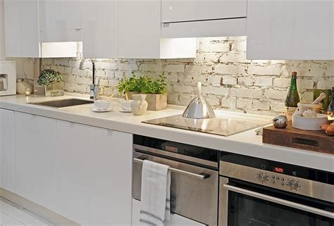 Brick Backsplashes For Kitchens 50 Kitchen Backsplash Ideas