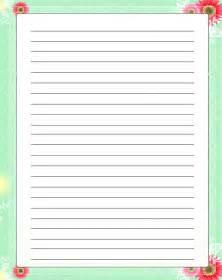 Size Of Writing Paper Flores Rojas Con Membrete Libre Papeler 237 A Ni 241 Os Imprimible