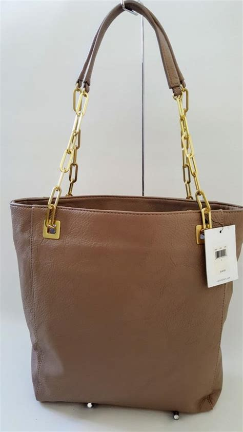 Tas Ck Tote Top Handle Original calvin klein new tote handbag chain shoulder bag on sale 54 shoulder bags on sale