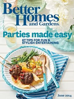 free 1 year better homes and gardens magazine subscription