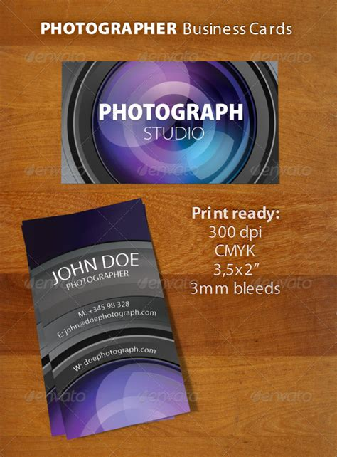 graphicriver wedding photography business card template photographer business card graphicriver