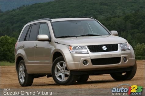 Suzuki Grand Vitara Review 2007 List Of Car And Truck Pictures And Auto123