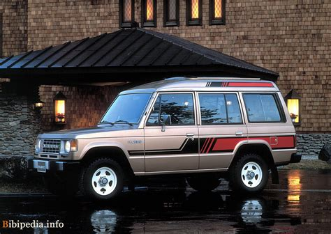 mitsubishi wagon 1990 1986 mitsubishi pajero photos informations articles