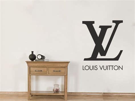 louis vuitton logo wall art sticker lv pvc decal modern