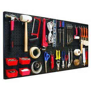Garage Organization Hooks How To Install Pegboards