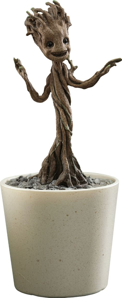 marvel little groot quarter scale figure by toys