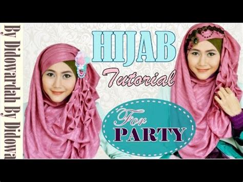 youtube tutorial hijab pesta pashmina tutorial hijab pesta pashmina beaded lilac series by