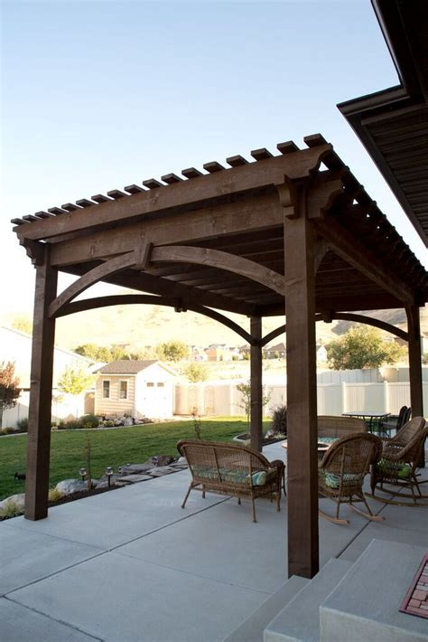 424 best free standing pergolas images on free