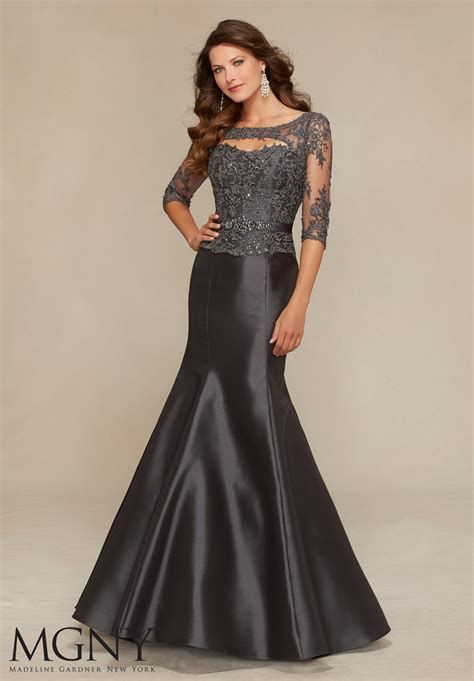 Evening Wedding Gown by Satin Evening Dress Style 71316 Morilee