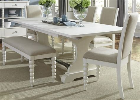 Amish Esszimmer Sets by Liberty Furniture Harbor View Trestle Table And 4