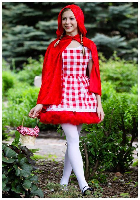 teen tutu red riding hood costume teen red riding hood