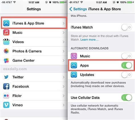 turn automatic updates iphone image gallery itunes update apps automatically