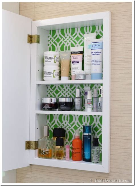 make your own medicine cabinet colorful home decorating and organizing ideas for cabinets