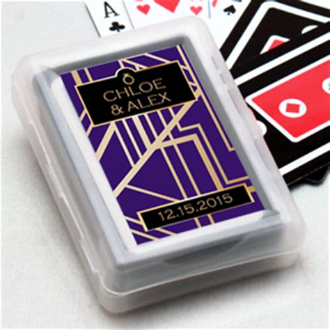 deco wedding favors deco personalized cards personalized cards las vegas wedding favors