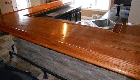 oak bar top ideas pictures to pin on pinsdaddy