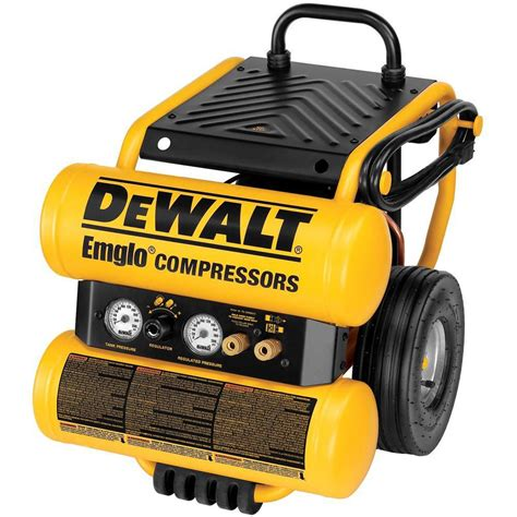 dewalt 4 gallon electric dolly style compressor the home depot canada