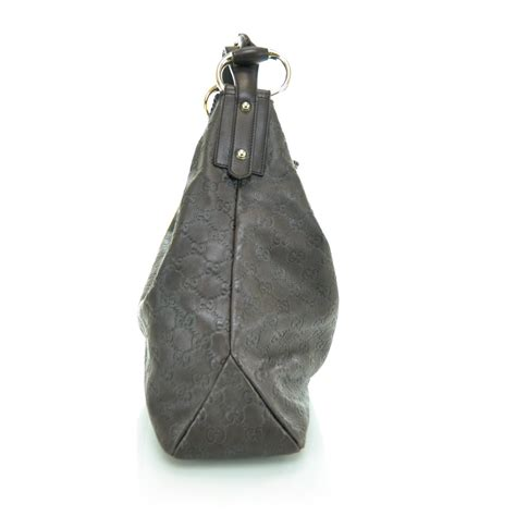 Gucci Chain Large Hobo by Gucci Guccissima Large Horsebit Chain Hobo Brown 29748