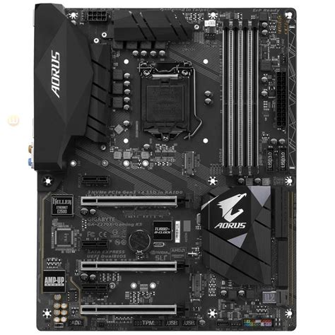 Motherboard Gigabyte Z270x Gaming K5 Ga Z270x Gaming K5 gigabyte ga z270x gaming k5 motherboard socket lga1151 atx hdmi dp usb3 1 lucomputer sku 33802
