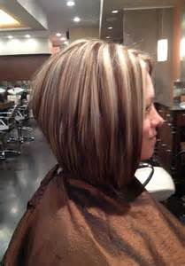 layred hairstyles eith high low lifhts 20 stacked bob haircut pictures bob hairstyles 2017