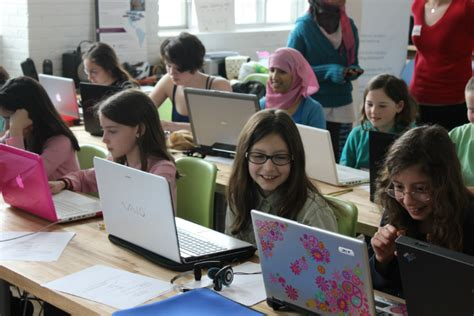 girls who code learn girls learning code on november 8th software hamilton